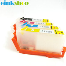 Einkshop 920 xl Refillable ink cartridge replacement for HP 920 920xl officejet 6000 6500 7000 6500a 7500A printer with chip for hp 920xl ink cartridge for hp 920 officejet 6000 6500 7000 7500a 6500a printer