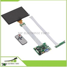 Cheap price 7 inch 1024*600 LCD for raspberry pi 1024*600 IPS Screen Display LCD TFT Monitor EJ070NA-01J with Remote Driver Control Board