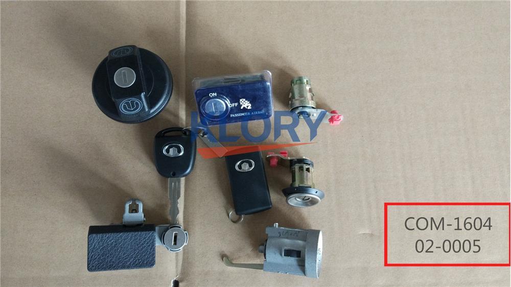 9101103 cylindre de verrouillage complet pour Haval de grande muraille
