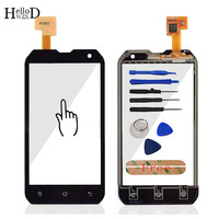 4 0 Mobile Phone For Highscreen WinJoy Touch Screen Glass Front Glass Digitizer Panel Lens Sensor