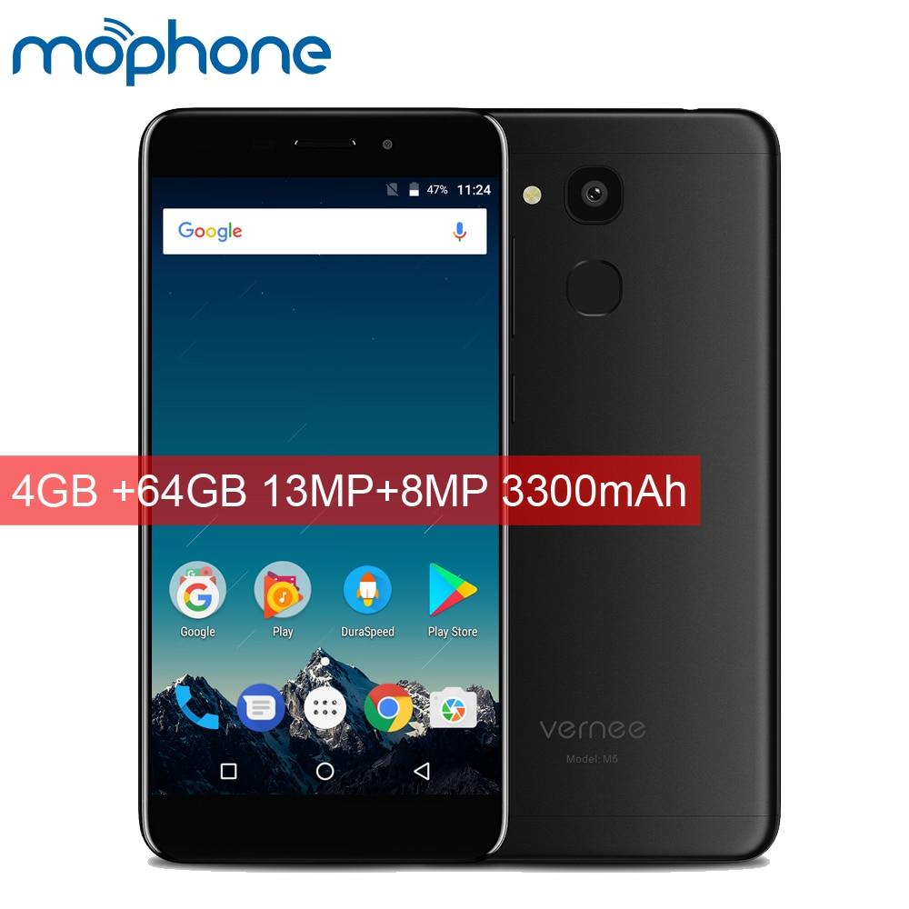 Vernee m5 4g lte 스마트 폰 5.2 인치 안드로이드 7.0 mtk6750 octa core 4 gb ram 64 gb rom 13.0mp + 8.0mp 3300 mah 빅 배터리 휴대 전화|휴대 전화| - AliExpress