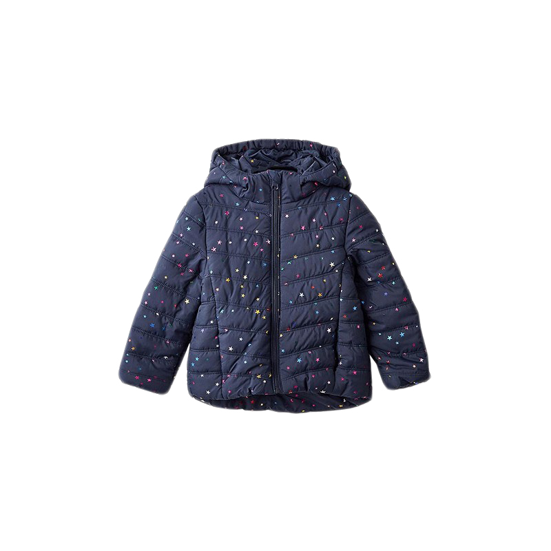 Jackets & Coats MODIS M182K00231 for girls kids clothes children clothes TmallFS girls outfits for kids jeans clothes sets fall child denim jackets
