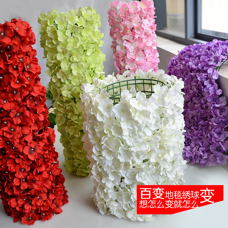 Church Wedding Gate And Stage Backdrop Curtain Flower Decoration Pipe D