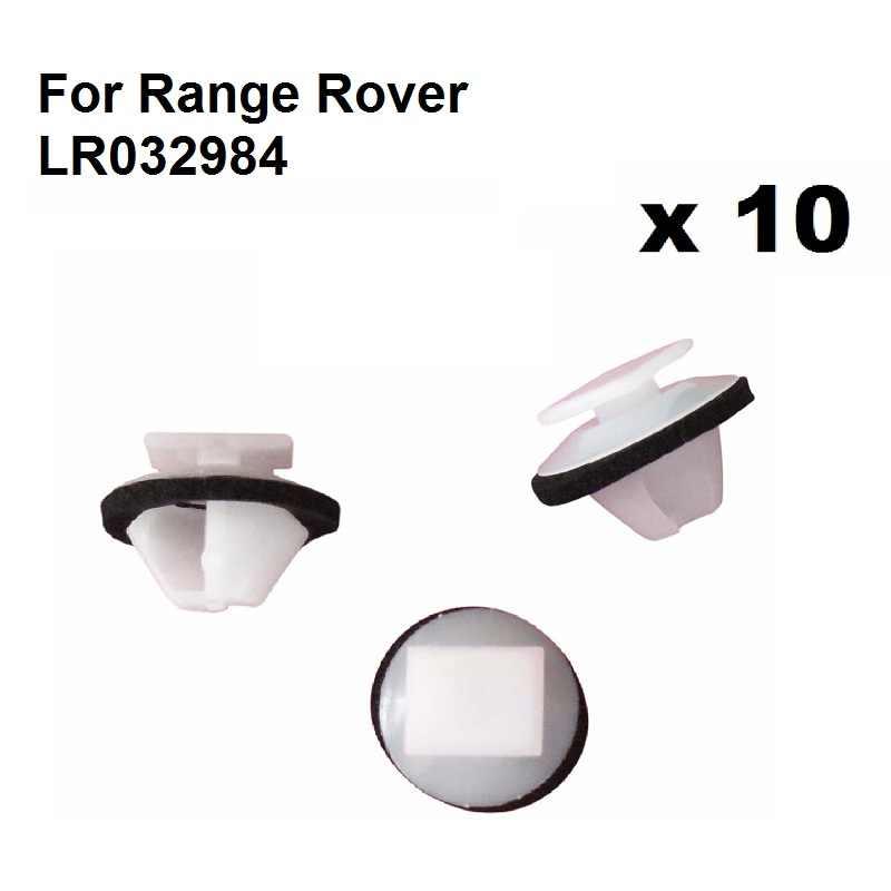 10x land//range Rover Trim moldeo Falda Clips 7-8mm