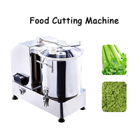 Multifunctional Food Cutting Machine Electric Meat Vegetable Mixer Commercial Stuffing Mixer 110V 220V HR 6