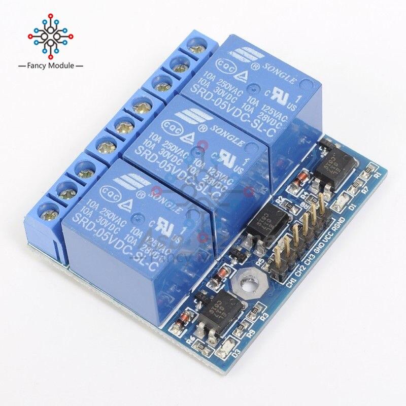 1//2//4//8 Ch 5V 12V USB Relay Programmable Computer Control Relais  For Smart Home