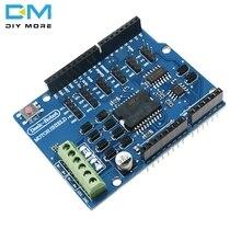 L298 L298P щит R3 драйвер двигателя постоянного тока Shiled плата модуль 2A двойной полный мост h-мост 2 способ 2CH для Arduino UNO реле 5 в 12 В