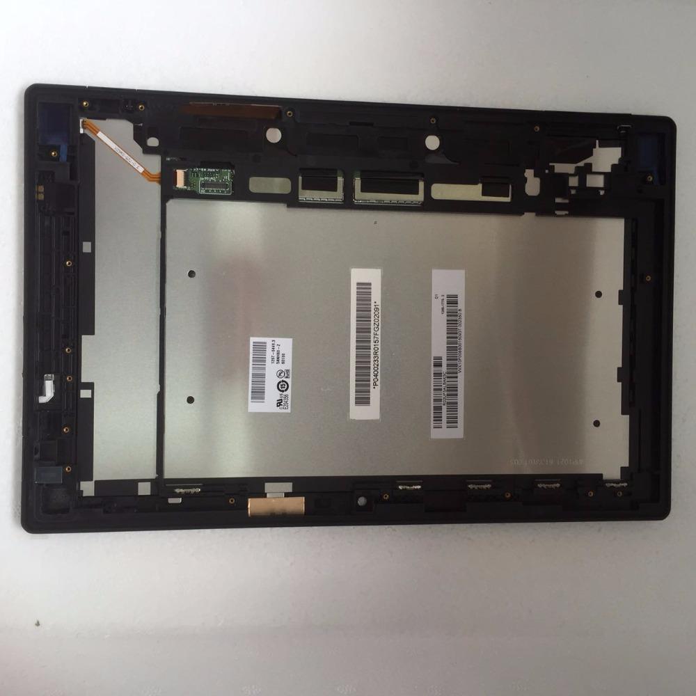 """Prix pour 10.1 """"Tablet PC Tactile écran + LCD Assemblée Pièce De Rechange avec cadre Pour Sony Xperia Tablet Z SGP311 SGP312 SGP321"""