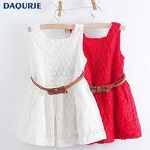 Girls dresses summer 2018 children clothes girls beautiful lace dress quality baby girls dress teenager kids