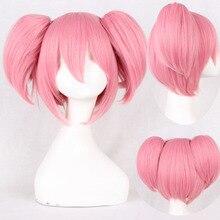 Cosplay Puella Magi Madoka Magica Sakura Kyouko wig for Wome