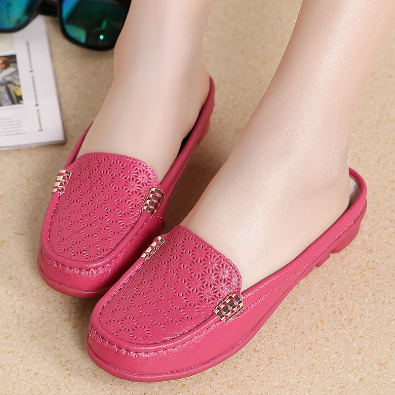 dbf00fb914747 MVVJKE Spring breathable sandals slippers bigger sizes in baotou ...