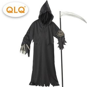 Image 1 - Disfraz de lobo de alta calidad con sombrero, máscaras, manos con esqueleto, para adultos y hombres, disfraz de halloween, esqueleto