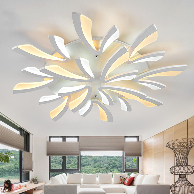 Modern ceiling light lamparas de techo plafoniere lampara - Lampara salon moderna ...