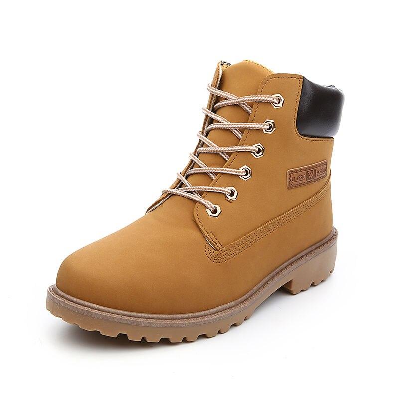 Hot 2017 European font b Men b font Fashion PU Leather Ankle Boots Spring Autumn Man