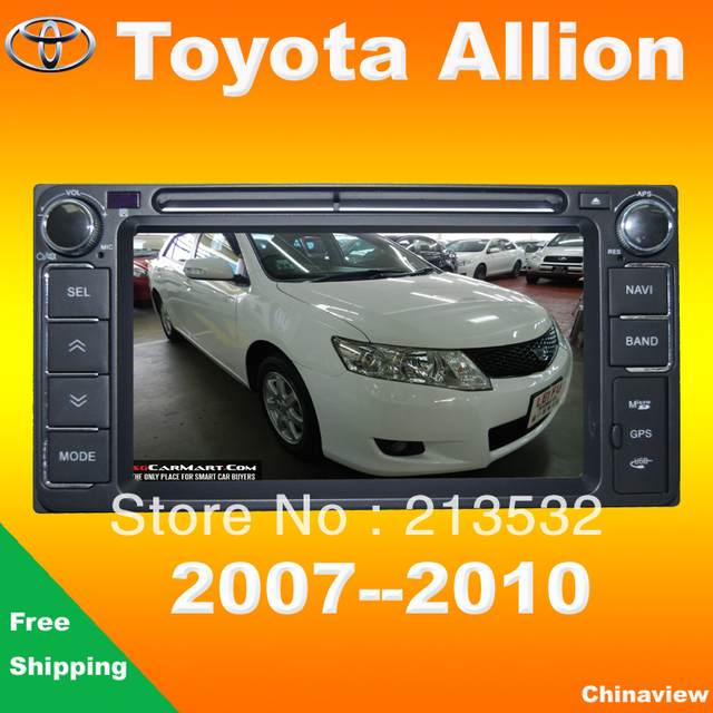 special car radio dvd player for toyota allion 2008 2010 with rh aliexpress com