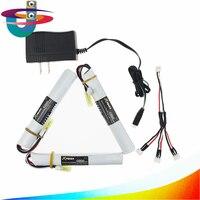 US plug charger 3in1 cable 3pcs 7.4V 1500MAH 15C XPower RC lithium battery AKKU Mini Airsoft Gun Battery Tamiya Wholesale 18650