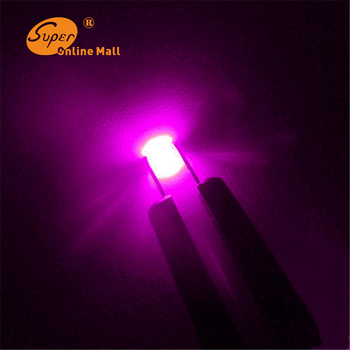 5000pcs/lot 0603 SMD/SMT Chip Pink LED Ultra Bright Light Emitting diode Suitable for Car and Toys DIY