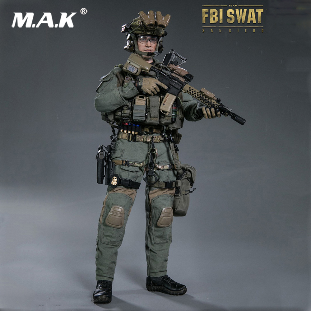 1:6 Scale 78044 A Elite Series FBI SWAT TEAM AGENT  SAN DIEGO Full Set Action Figure Toy for Collection savarez 510 cantiga series alliance cantiga normal high tension classical guitar strings full set 510arj