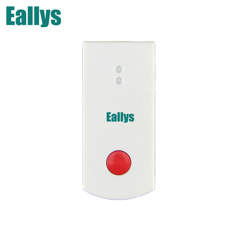 Free shipping!868mhz Wireless Emergency Button for Our Related 868mhz Home Alarm Home Security System 868Mhz Panic Button 2 receivers 60 buzzers wireless restaurant buzzer caller table call calling button waiter pager system