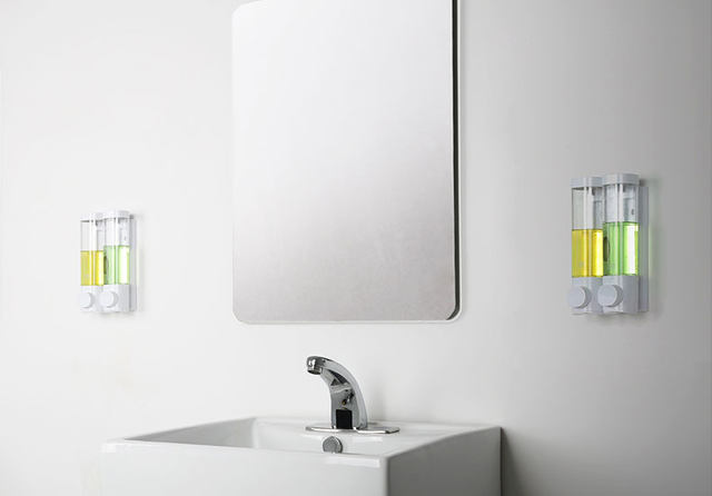 Zeepdispenser Douche Wand : Online shop fapully zeepdispenser muur automatische zeepdispenser