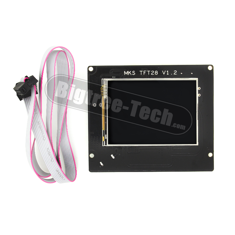 3D Printer 2.8 Inch Full Color Touch Screen LCD MKS TFT28 V1.2 mks tft28 v1 1 3d printer smart touch screen controller