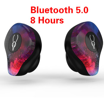 X12 PRO Bluetooth 5.0 Sports Earphones Waterproof IPX5 Wireless Headset with Mic Button Control Noise Cancelling Stereo Earphone