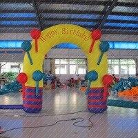 3 м надувные арки на рождество (бесплатно вентилятора + комплект для ремонта)