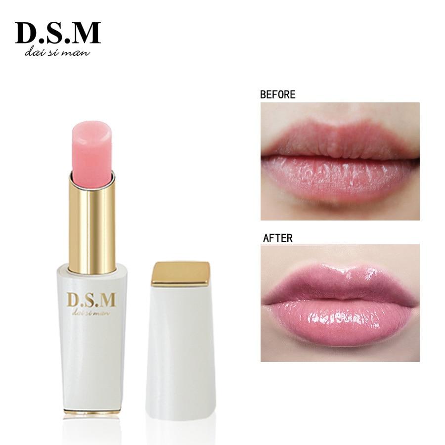 D.S.M Brand New Gloss Rossetto facile da Indossare Lunga Durata Lipstain Professionale di Trucco del Labbro Cosmetici cambia Colore Balsamo per le labbra