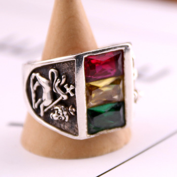 S925  Sterling  Ring Mens Japan Korean fashion all-match old ssilver color ring