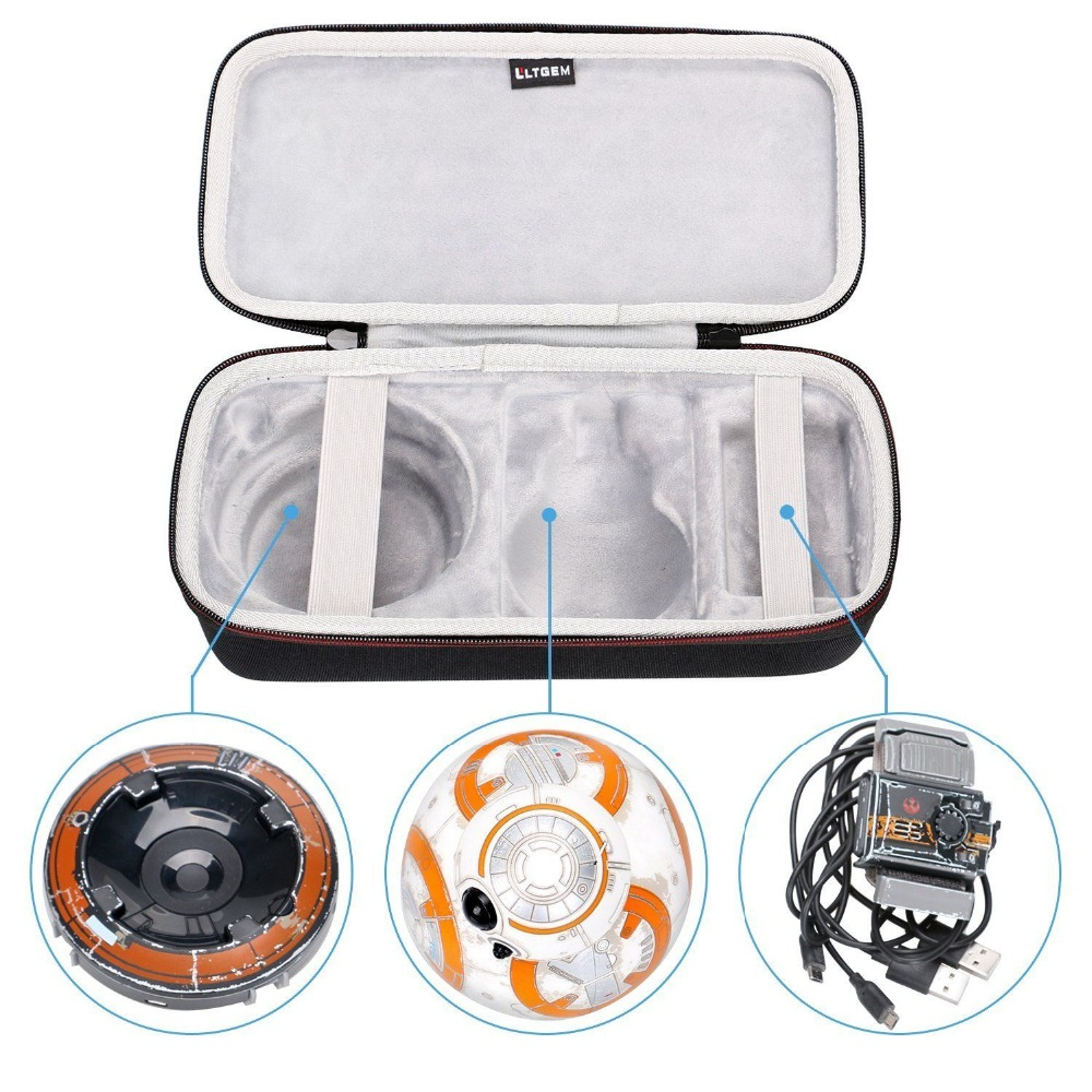 LTGEM Storage Travel Protect Carrying Case For Sphero Star Wars BB-8 Droid And Force B