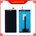 Pantalla LCD Táctil Digitalizador Asamblea Para BQ Aquaris E6 E6.0 0750 Probados de Alta Calidad Teléfono Móvil Lcd Herramientas Gratuitas regalo