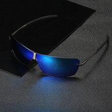39122ec46 BiNFUL Design Da Marca Unisex Planas Óculos De Sol 2018 Polarized Óculos de  Sol Homens Retângulo