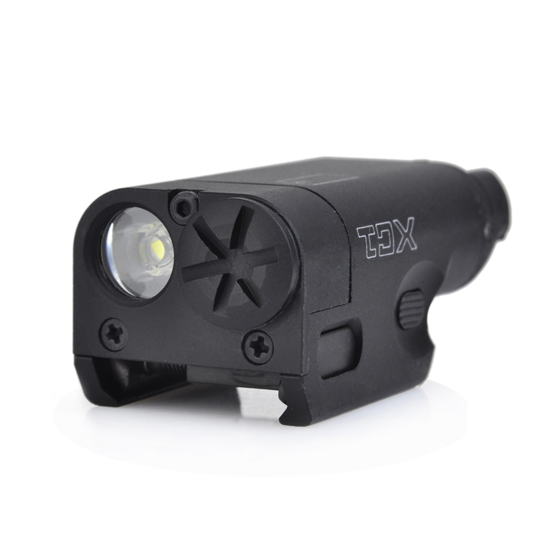 Surwish Tactical XC1 Pistol Flashlight Weapon Light Flashlight Glock SF XC1 Ultra Compact Hand Light for Nerf Games