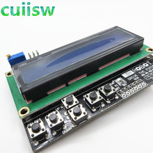 10PCS LCD Keypad Shield of the LCD1602 character LCD input and output expansion board For arduino