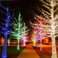 10-50M LED String Lights Christmas New Year Garland Decoration for Street Room House Garden Outdoor Use DIY Decor EU US Plug in