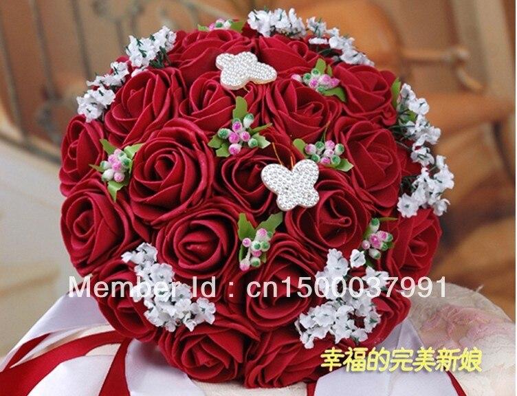 Bouquet De Fleur De Mariage Rouge Idee Mariage Et Robe De Mariage