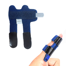 1 Pcs Finger Splint Fracture Protection Brace Corrector Support Relieve Pain Adj