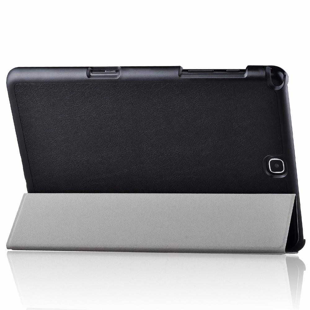 Tab A 9.7 Väska Väska Ultra Slim Lätt Smart Cover Väska Stativ - Surfplatta tillbehör - Foto 5