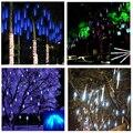 50 cm 8 Tüp Su Geçirmez Tatil Meteor Duş Yağmur LED Dize Işıklar Kapalı Açık Bahçeler Noel Noel Partisi Dekor ağacı