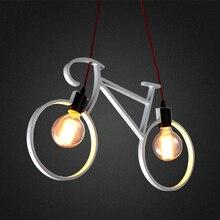 Jaxlong Children s Room Bicycle Chandelier Restaurant Bedchamber Features Hanging Lamp Hallway Metal Iron Bike Pendent