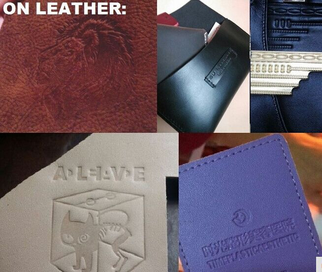 hot stamping on leather1