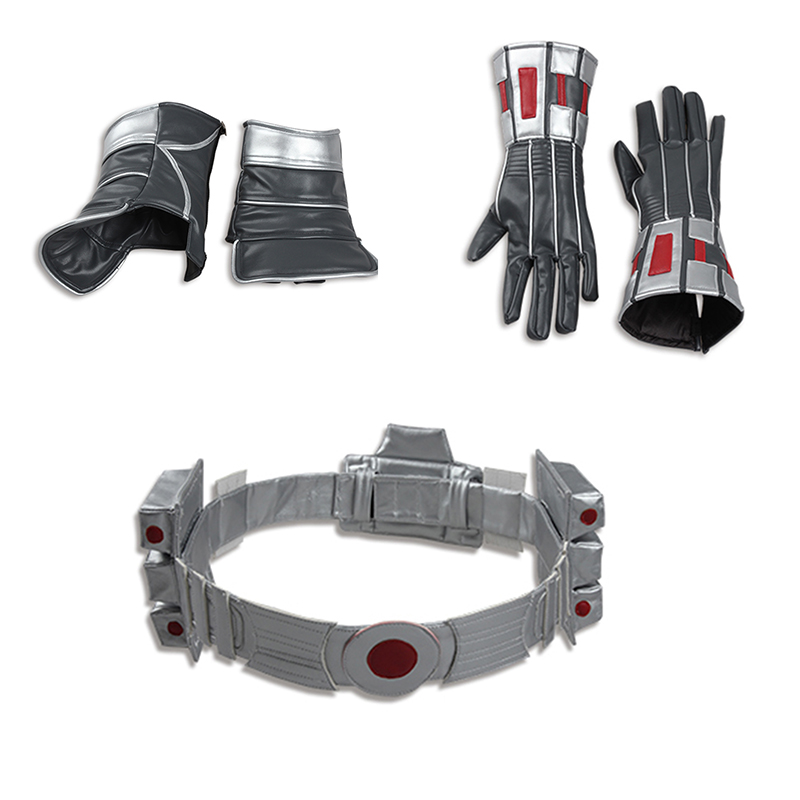 Ant Man Cosplay Costume Ant men Accessories Ant men Gloves Shoes Cover Belt Halloween Costume for
