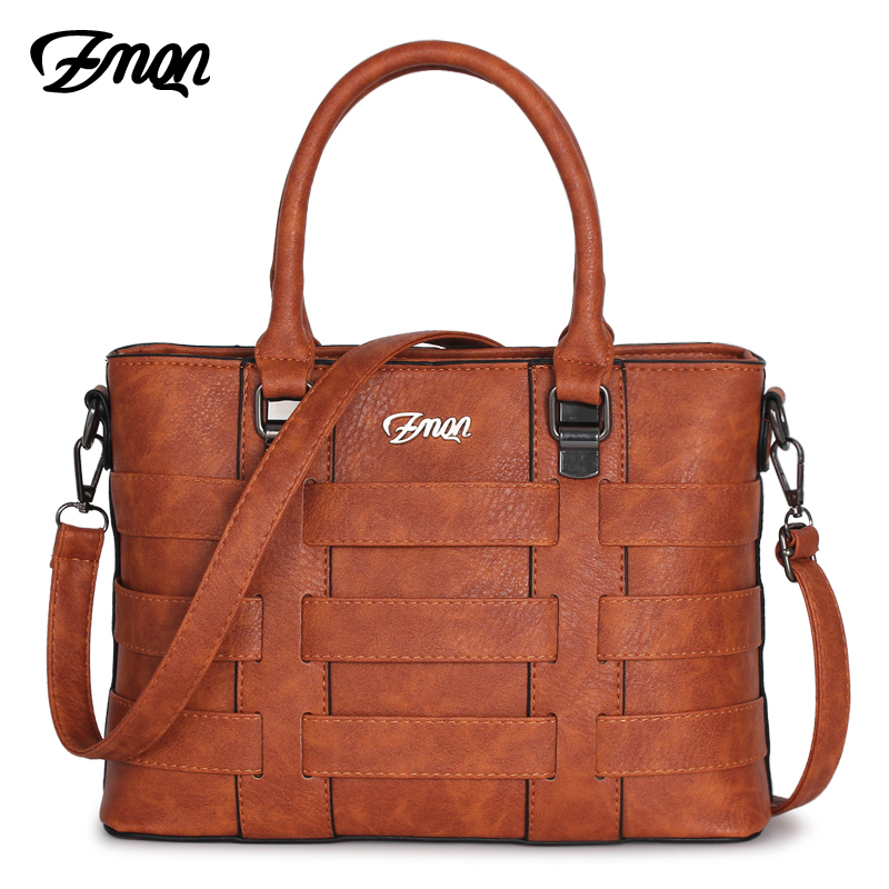 ZMQN Bag For Women Luxury Handbag Women Famous Brand PU Leather Designer Handbag High Quality Shoulder Bag Kabelka 2018 Sac A821
