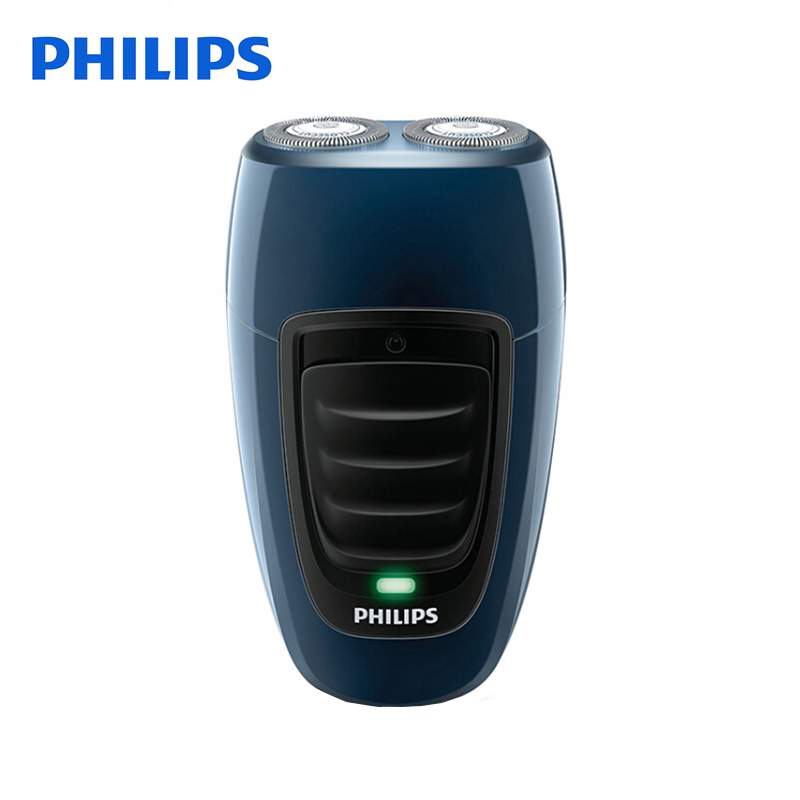 Philips Electric Shaver PQ190 Rechargeable with Ni-MH Battery 100-240V  for Men's Electric Razor Independent Two Floating Heads philips s531 rechargeable electric shaver water washable razor