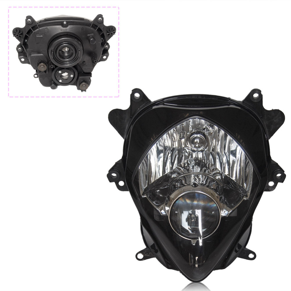 For Suzuki GSX-R 1000 K7 GSXR1000 Front Headlight Headlamp 2007 2008 07 08 Motorbike Head Lamp Light Assembly Parts Lighting
