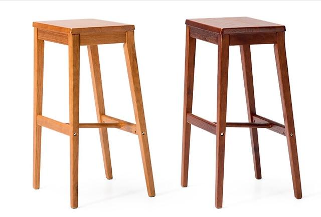 Industrial vintage antico sgabello da bar sedia sedile quadrato di