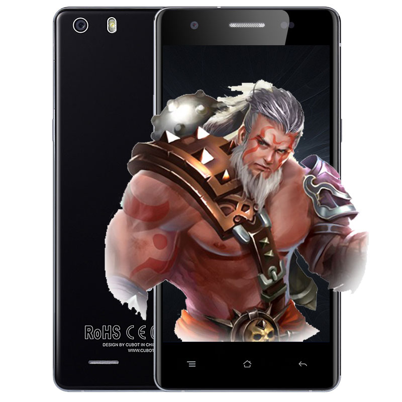 bilder für Original Cubot X16S Android 6.0 Smartphone 5 zoll 4G Smartphone MT6735 Quad Core 1,3 GHz 3 GB RAM 16 GB ROM Dual Rückfahrkamera OTG