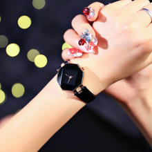 2016 New Arrivals Mulher Moda Relógios Quart Diamante Casuais de Couro À Prova D' Água Estudante Relógios Feminino Pulseira de relógio feminino