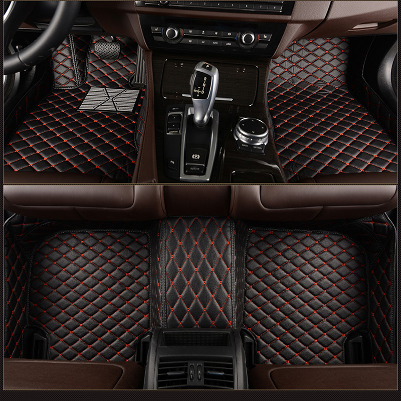 FUZHKAQI Custom car floor mats for Lifan All Models 320 520 X60 X50 720 620 820 X80 car styling car accessories in Floor Mats from Automobiles Motorcycles