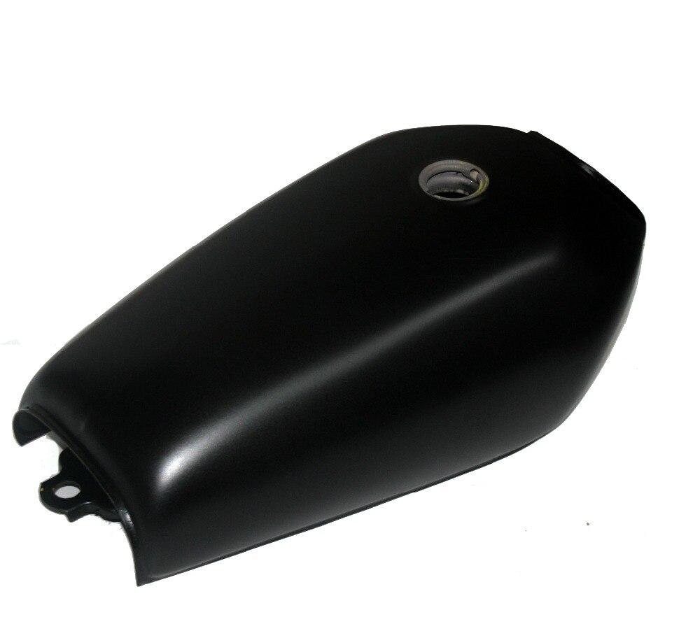 Universal Matte Black 9L Gallon Motorcycle Cafe Racer Retro Fuel Gas Tank w/Tap+Key+Cap Switch For Honda CG125 CG125S CG250 New